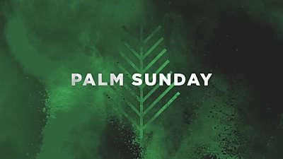 Color Burst Palm Sunday Title Still