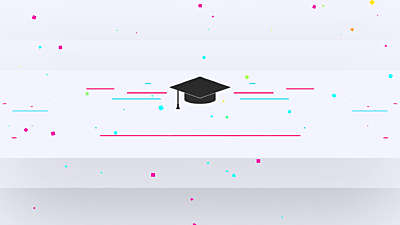 Colorful Graduation Title Blank Still