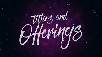 Colorful Winter Tithes & Offerings