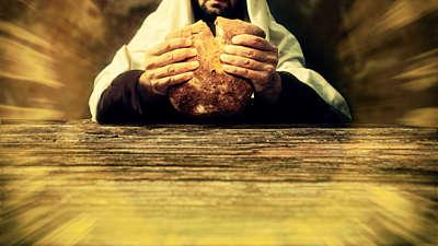 Communion Bread Still