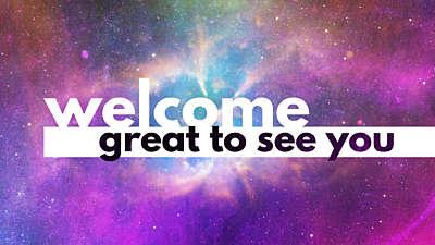 Deep Space Welcome Still