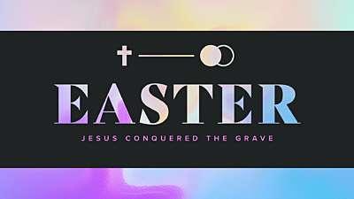 Easter Foil Easter Still