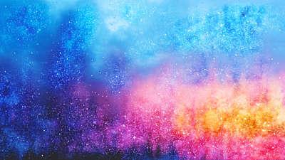 Easter Colors Cloud Still