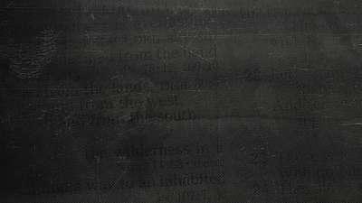 Faded Text Dark Still