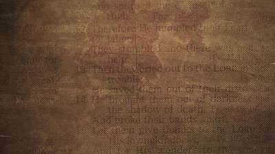 Faded Text Parchment Still