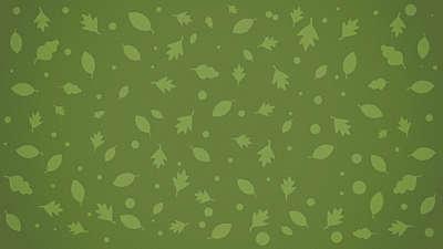 Fall Fest Green Leaves Still