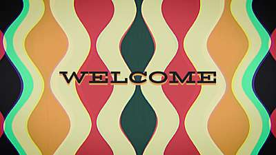 Groovy Welcome Still