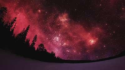 Heavenly Lights Flame Stars Still