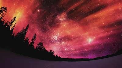 Heavenly Lights Flame Still