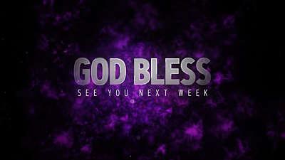 Holy Week God Bless