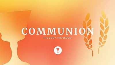 Holy Week Icons Communion Still