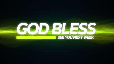Horizons God Bless Graphic