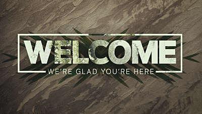 Hosanna Welcome Graphic