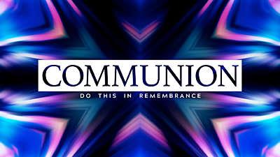 Indigo Communion Still