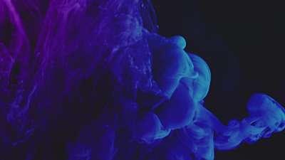 Ink Rise Bluish Still