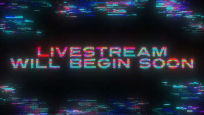 LED Glitch Live Stream Still