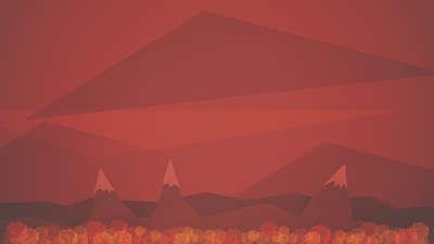 Last Leaves Mountains Still