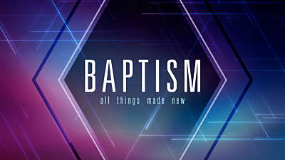 Linear Baptism Still