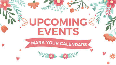 Mother's Day Upcoming Events Still Vol4