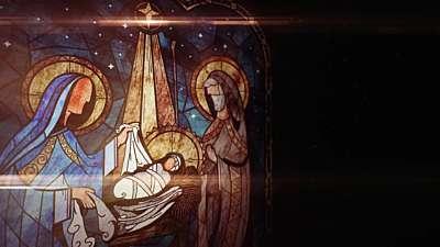 Nativity Glass Nativity Still