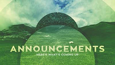 Natural Announcements Still