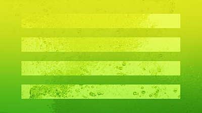 Neon Water Green Still