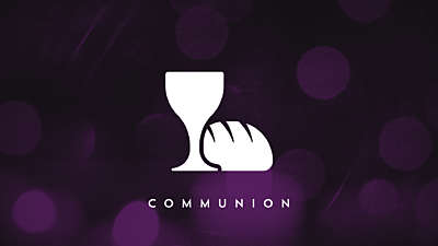 Nighttime Christmas Communion Still