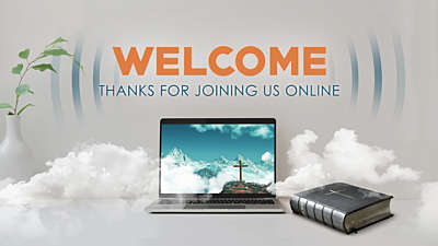 Online Church Welcome Still Vol 1