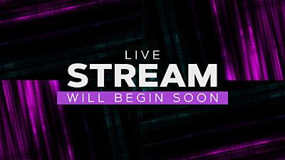 Online Live Stream Graphic