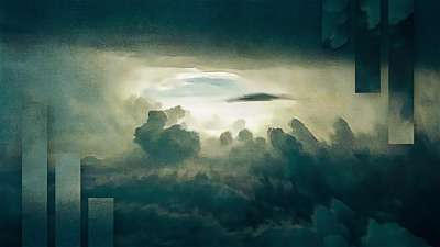 Painted Nature Cloudscape Alt Still