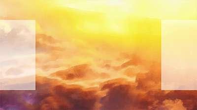 Painted Nature Sunrise Alt Still