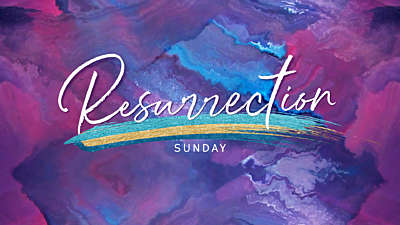 Painted Resurrection Sunday Still