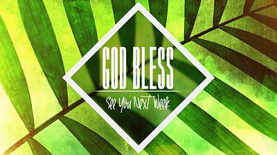 Palm Sunday God Bless