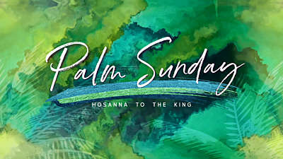 Palm Sunday Vol 3 Palm Sunday Still