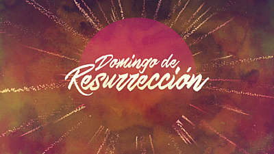 Particle Rays Easter Title (Spanish)