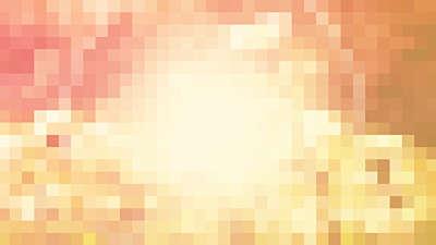 Pixel Sun Wheat Still