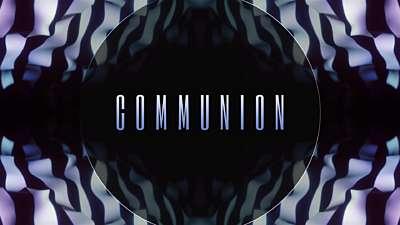 Ribbon Flow Communion Still