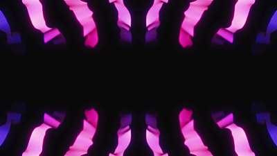 Ribbon Flow Pink Still
