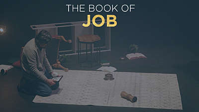 The Book of Job Man In Destroyed Home
