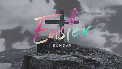 The Cross Easter Sunday Still