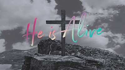 The Cross He is Alive Still