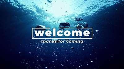 Underwater Welcome Still