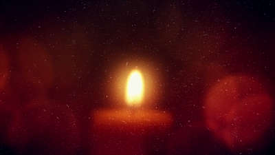 Warm Advent Glow Candle 02