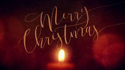 Warm Advent Glow Merry Christmas