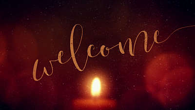 Warm Advent Glow Welcome