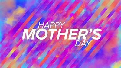 Water Colors Mother's Day Still