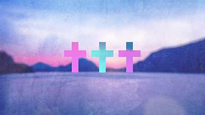 Watercolor Cross Lake Remix Still
