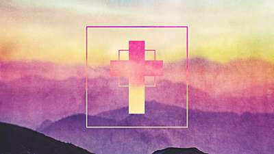 Watercolor Cross Mountains Remix Still