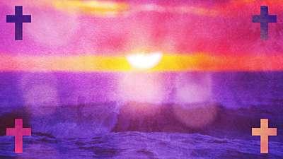 Watercolor Cross Waves Remix Still