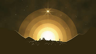 Winter Night Bethlehem Still